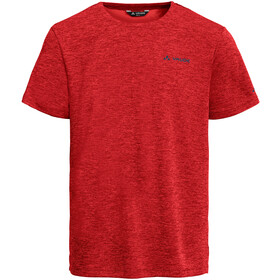VAUDE Essential Camiseta Hombre, rojo